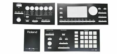 ROLAND Synthesizer Overlay Sheet Replacement Repair FA-06 FA-07/FA-08 • 23.15£