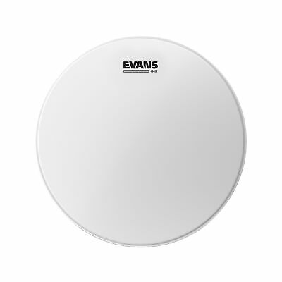 Evans 13  G12 Coated White Drumhead • 9.92£