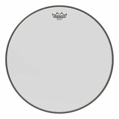 Remo 18  Ambassador Smooth White Bass Drumhead • 25.03£