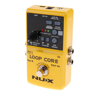 NUX Loop Core Guitar Single Effect Pedal Tuner Effect Processor Replacement • 81.55£