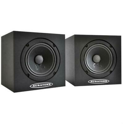Auratone 5C Super Sound Cube Passive Studio Monitor Speakers PAIR, Black • 259.28£