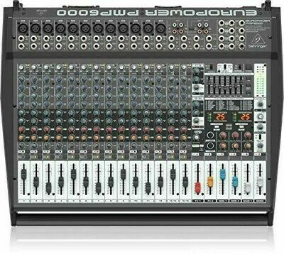 Behringer PMP6000 1600W20-Channel Powered Mixer 741459822552 B003GVBDCO  • 773.68£