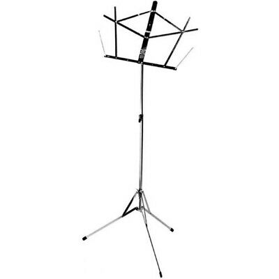 On-Stage Stands Compact Sheet Music Stand Black • 9.92£
