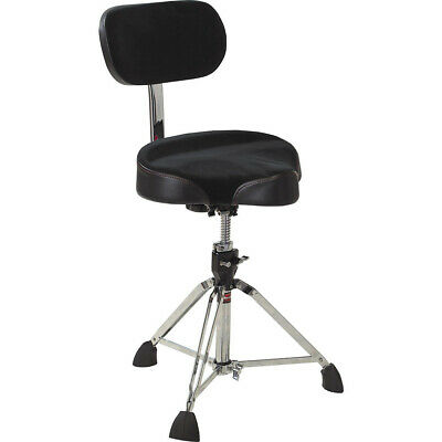 Gibraltar 9608MB Oversized Moto Seat Drum Throne W/Backrest • 147.48£