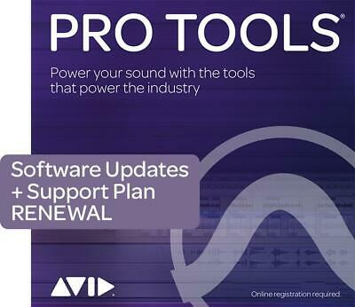 Pro Tools 1-Year Updates & Support Renewal Boxed Activation Card  Software (Phys • 123.95£