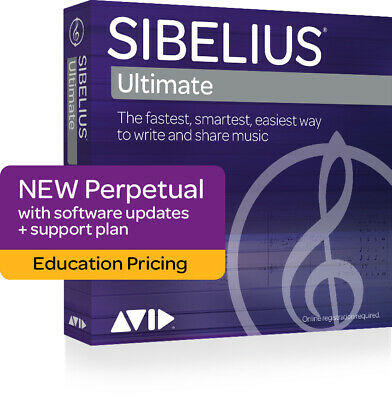 Sibelius | Ultimate Perpetual - Education Boxed   Software (Physical Product) AV • 350£