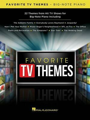 Favorite TV Themes  Piano  Book Only HL00294318