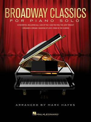 Broadway Classics for Piano Solo 10 Favorites, arranged by Mark Hayes Piano  Boo