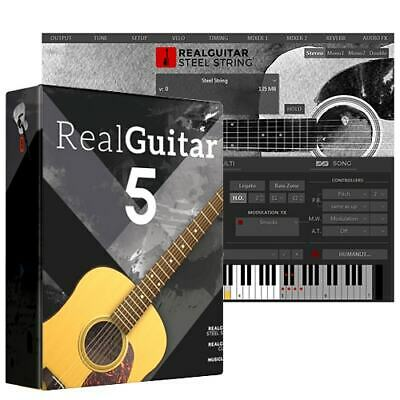 New MusicLab RealGuitar 5 Real Guitar VST Software Windows Only  • 18.07£