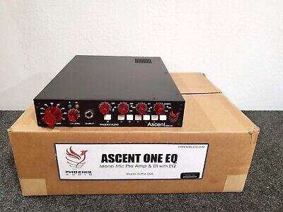 Phoenix Audio Ascent One EQ  Microphone Preamp Equalizer DI  neve Style mic Pre • 632.37£
