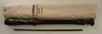 YAMAHA Soprano / Descant Recorder Baroque YRS-24B (Used In Excellent Condition) • 9.50£