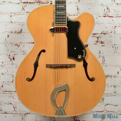 Guild A-150 Hollow-Body Electric Guitar Savoy Blonde W/OHSC (USED) • 643.08£