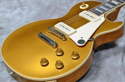 New Gibson Les Paul Standard 50S P 90 Gold Top *Oel677 • 2,350.15£
