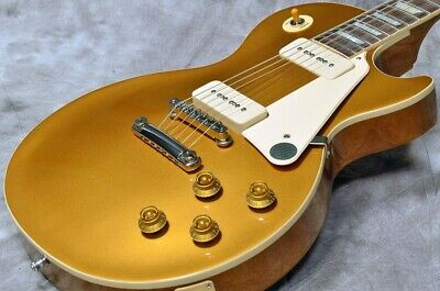New Gibson Les Paul Standard 50S P 90 Gold Top *Hup745 • 2,157.59£