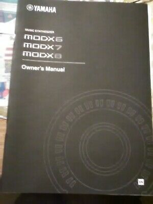 Yamaha Music Synthesizer MODX6,7,8 Owners Manual • 21.51£
