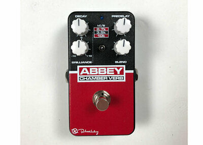 Keeley Electronics Abbey Chamber Verb Vintage Reverb - Used FREE 2 DAY SHIP • 95.40£