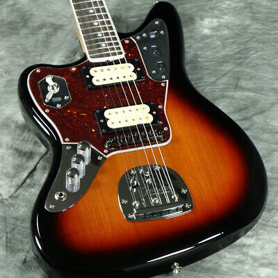 New Fender Kurt Cobain Jaguar Left Hand Nos 3-Color Sunburst *Tpg84 • 2,067.37£