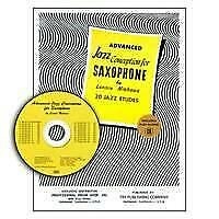Advanced Jazz Conception  Saxophone Lennie Niehaus Book with CD TRY1060