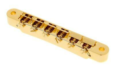 Gibson Tune-o-matic Historic Non-wire Bridge (Gold) PBBR-065 ABR-1 • 79.73£