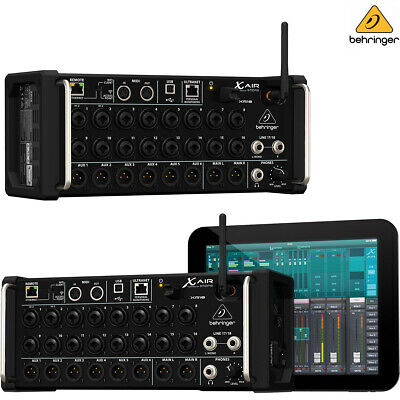 Behringer XR18 X Air Tablet-controlled Digital Mixer W/ WiFi L Authorized Dealer • 468.13£