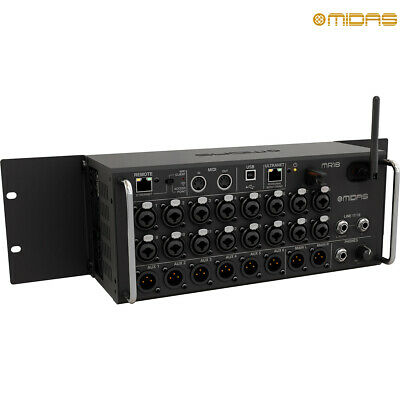 Midas MR18 Tablet-controlled 18-Input Digital Mixer With Wi-Fi And USB Recorder • 848.08£
