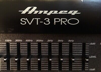 Ampeg Svt-3 Pro 450-watt Bass Head — Rarely Used! Excellent Condition! • 366.37£