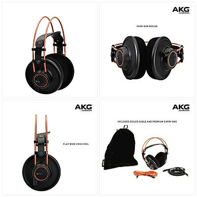 AKG K712PRO Open-Back, Over-Ear Premium Reference Class Studio Headphones • 311.30£