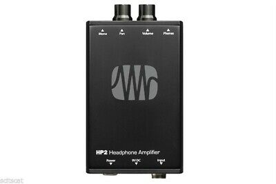 New PreSonus HP2 HP-2 Battery-Powered Personal Stereo Headphone Amplifier • 88.32£