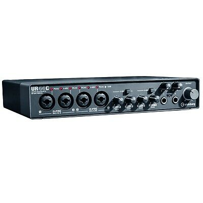 Steinberg UR44C 6IN/4OUT USB 3.0 Type C Home Audio Recording Interface • 257.71£