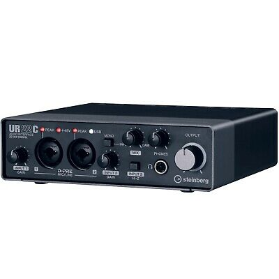 Steinberg UR22C 2IN/2OUT USB 3.0 Type C Audio Recording Interface • 145.89£