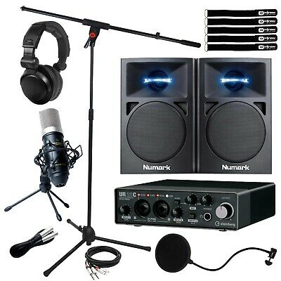 Steinberg UR22C 2 In/Out USB Home Recording Audio Interface W 3  Speakers & Mic • 302.85£