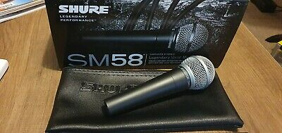Shure SM58-LC Dynamic Legendary Vocal Microphone - Used Once • 41£