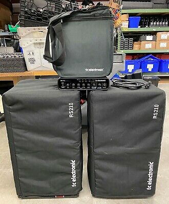 TC Electronic RH750 Bass Head With 2 TC Electronic K-210 Bass Cabinets • 1,203.13£