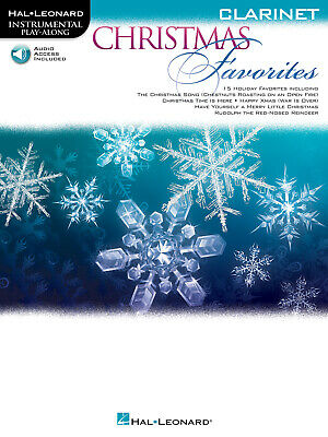 Christmas Favorites - Clarinet Instrumental Play-Along Clarinet  Book with Audio