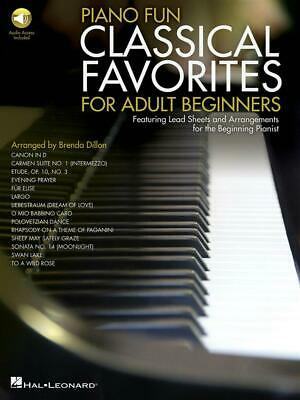 Piano Fun- Classical Favorites for Adult Beginners Featuring Lead Sheets and Arr