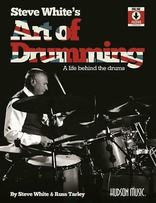 Steve White's Art of Drumming A Life Behind the Drums Drum Kit Steve White_Russ