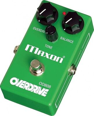 New Maxon OD808 Overdrive Guitar Effect Pedal Rock Made In Japan With Tracking • 146.22£