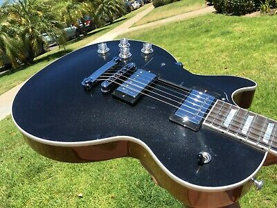 Gibson Les Paul Modern Graphite Silver Sparkle Left Handed Lefty Case And COA • 2,027.99£