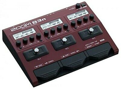 Zoom B3n Multi Effects Processor For Bass Guitar Brand New Free Shipping • 170.12£