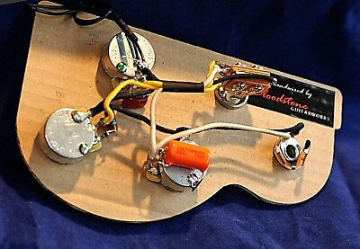 Ready Built Gibson 3 Pot Flying V etc Wiring Upgrade Loom Harness A
