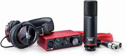 Focusrite Scarlett Solo Studio Pack 3rd Gen USB Audio Interface • 346.91£