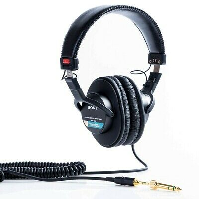 Sony MDR7506 Professional Large Diaphragm Headphone Black With Tracking • 173.15£