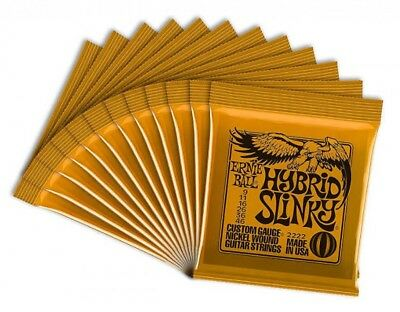 ERNIEBALL Electric Guitar Strings Ernie Ball Hybrid Slinky 12 Pcs Japan Tracking • 84.91£