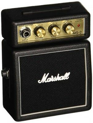 MARSHALL MS-2 Compact Guitar Amplifier Equipped Overdrive Japan With Tracking • 70.80£