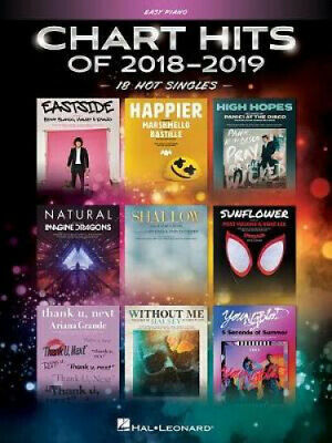 Chart Hits Of 2018-2019, Easy Piano By Hal Leonard Publishing Corporation • 19.66£