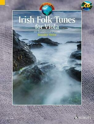 Irish Folk Tunes For Viola Benedict Taylor SCHOTT London Viola MUSIC BOOK & CD • 23.99£