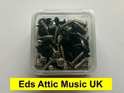 Pack of 60 pickguard screws - Fender / Gibson etc - Mixed  - in stock from UK