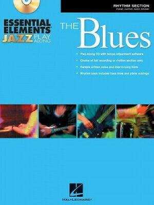 Essential Elements Jazz Play-Along - The Blues: Rhythm Section.  • 14.49£