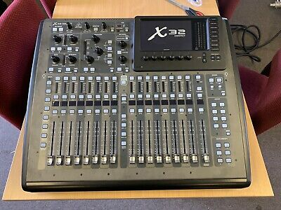 Behringer X32 Compact + S16 + Cymatic Audio Utrack X32 • 1,200£