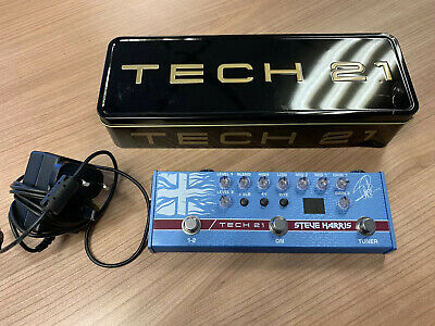 Tech 21 Steve Harris SH1 Signature SansAmp Pedal • 111£
